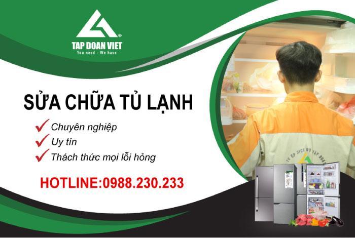Dịch vụ sửa tủ lạnh uy tín tại nhà của Tập Đòan Việt
