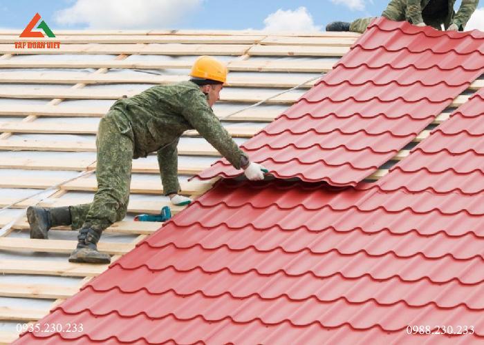 Lợp mái tôn quận Hoàn Kiếm chất lượng