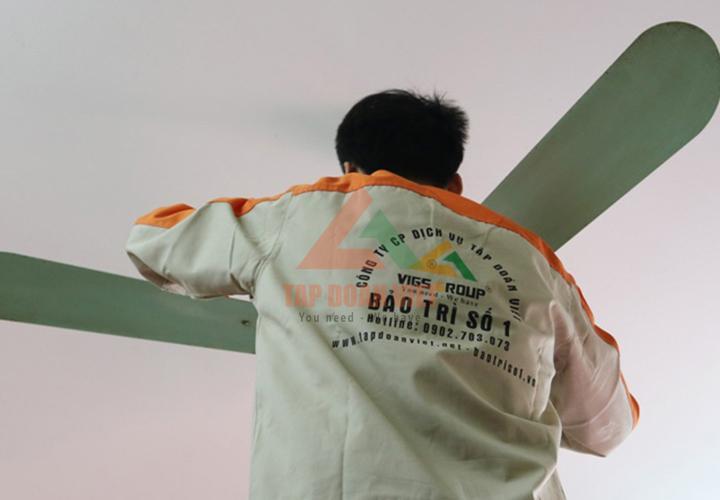Sửa chữa quạt điện tại nhàở quận Long Biên Hà Nội