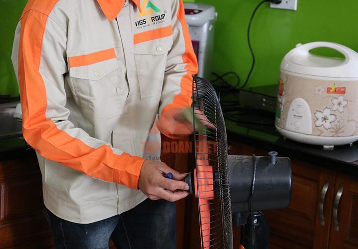 Sửa chữa quạt điện tại nhàở quận Cầu Giấy