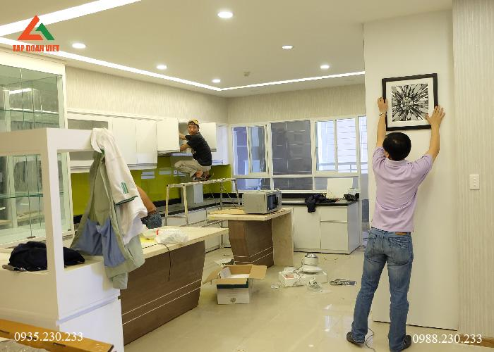 Sửa nhà BẾP quận Ba Đình uy tín, chất lượng