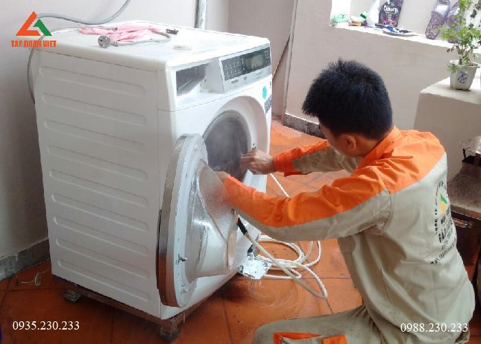 Vệ sinh máy giặt tại hà Nội giá rẻ