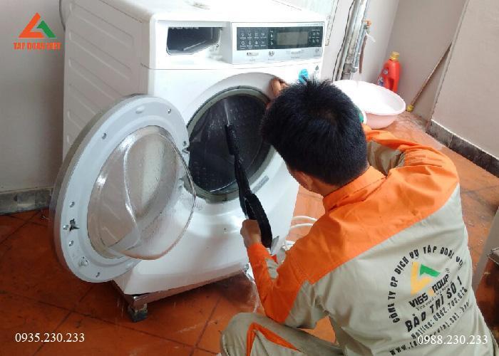 Dịch vụ lắp đặt máy giặt tại nhà giá rẻ ở Hà Nội chuyên nghiệp, uy tín