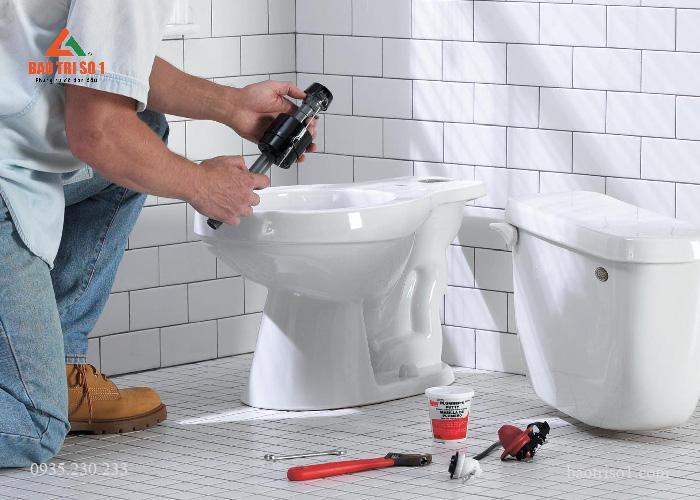 Sửa nhà vệ sinh uy tín tại quận Cầu Giấy
