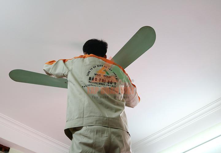 Dịch vụ sửa chữa quạt điện tại nhà ở quận Bắc Từ Liêm của chúng tôi: