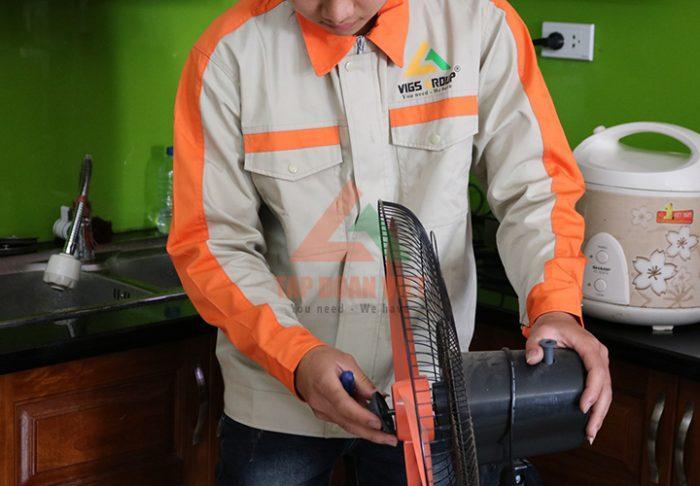 Sửa chữa quạt điện uy tín, giá rẻ tại nhà Hà Nội