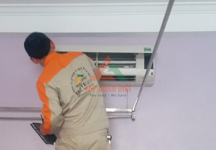 Lắp đặt điều hòa tại nhà ở Hà Nội uy tín chất lượng