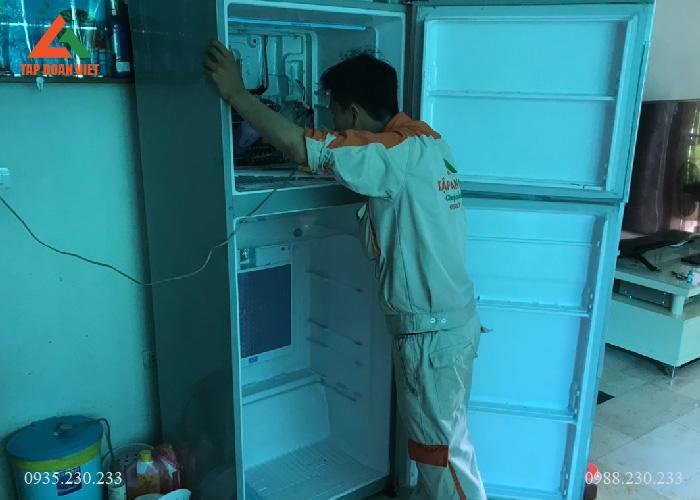 Sửa chữa tủ lạnh tại Linh Đàm nhanh chóng