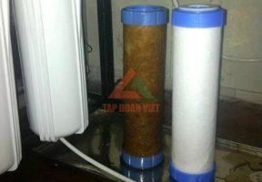 Quy trình sửa chữa máy lọc nước tại nhà Hà Nội của Tập Đoàn Việt