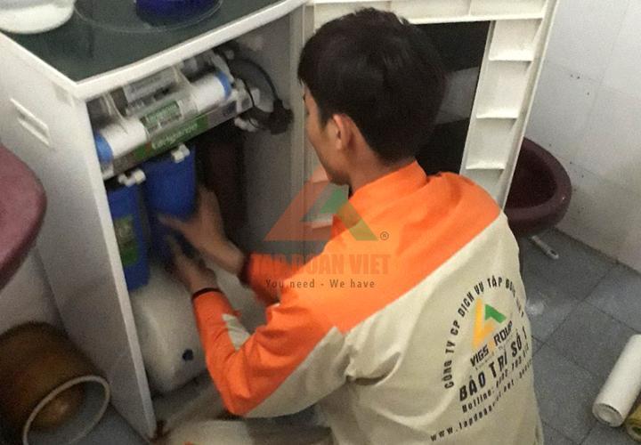 Lắp máy lọc nước Kangaroo