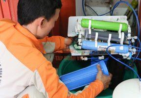 Các bước sử dụng dịch vụ giúp cải tạo nguồn nước gia đình của Tập Đoàn Việt