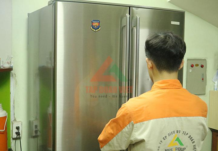 Lỗi tủ lạnh phát ra tiếng ồn lớn