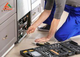 Quy trình sửa chữa tủ lạnh tại nhà hiệu quả