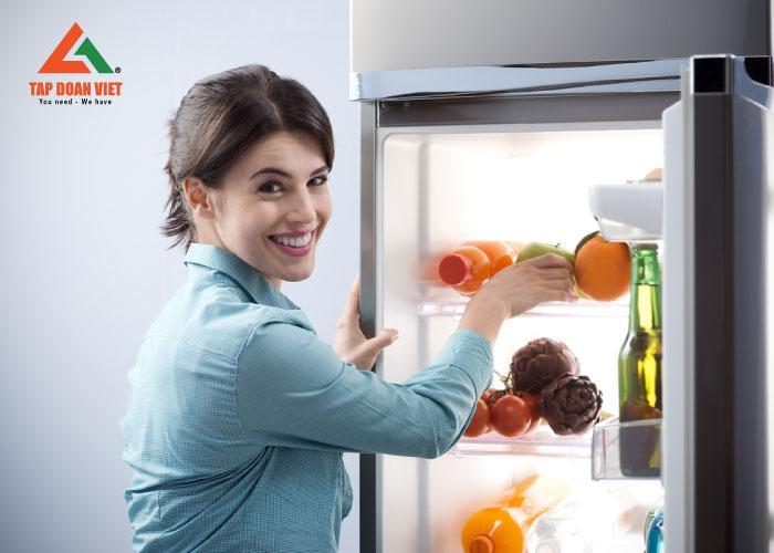 Cuối cùng, tủ lạnh đã được hoạt động trở lại bình thường sau khi khắc phục xong
