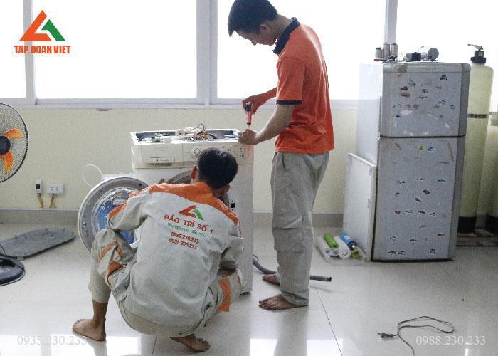 Dịch vụ vệ sinh máy giặt tại nhà uy tín tại Hà Nội tại Tập Đoàn Việt