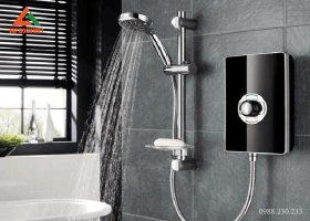 Sử dụng vòi sen tăng áp khi lắp bình nóng lạnh